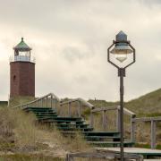 Bronze Rosenheim Leuchtturm Sylt Kampen Dünen Strand