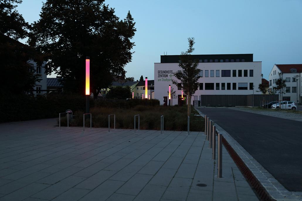 RGBW-Stele Rondo