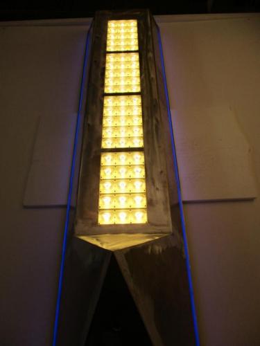 Leuchtenkopf mit LED-Modulen