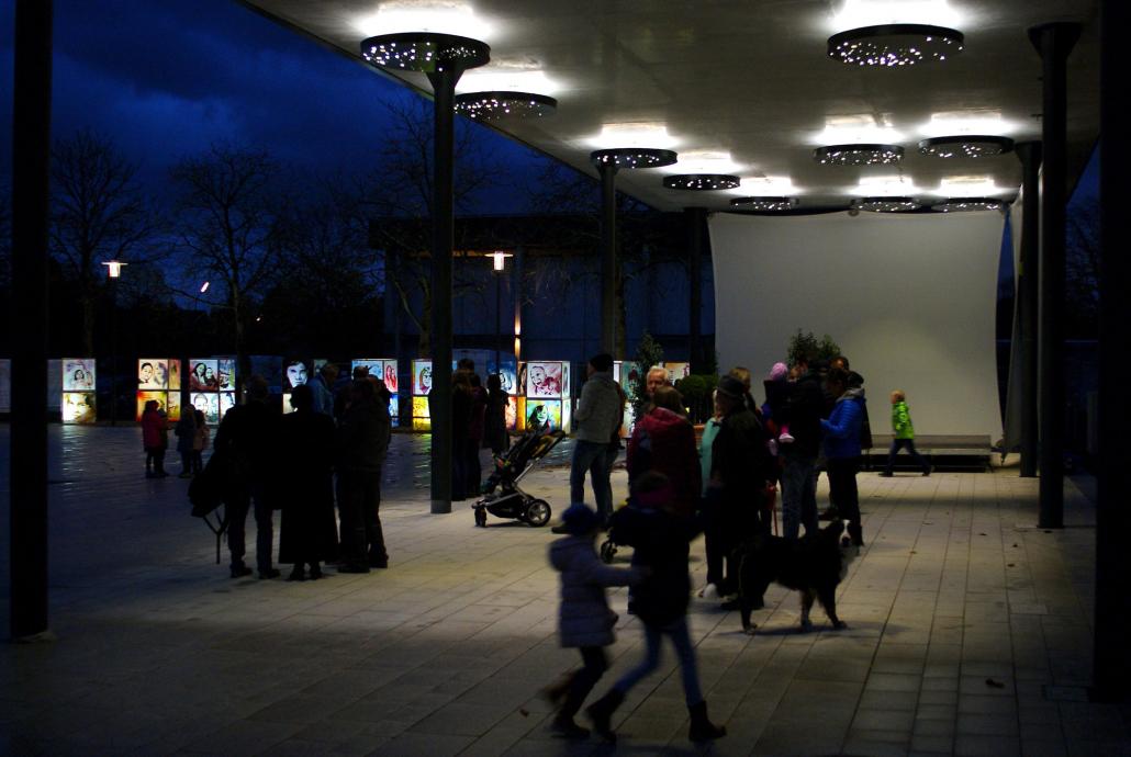 Lichtkunst Oberschleißheim