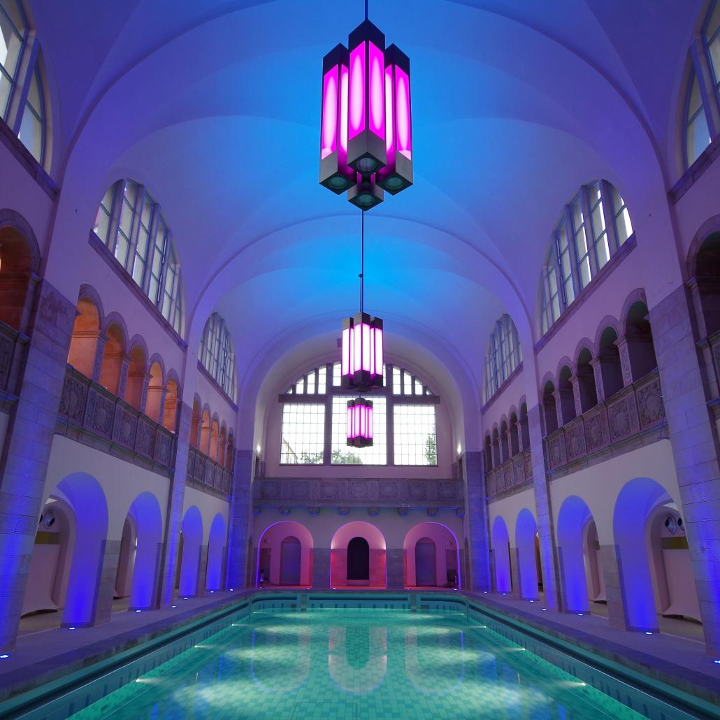Leuchten Oderberger Stadtbad