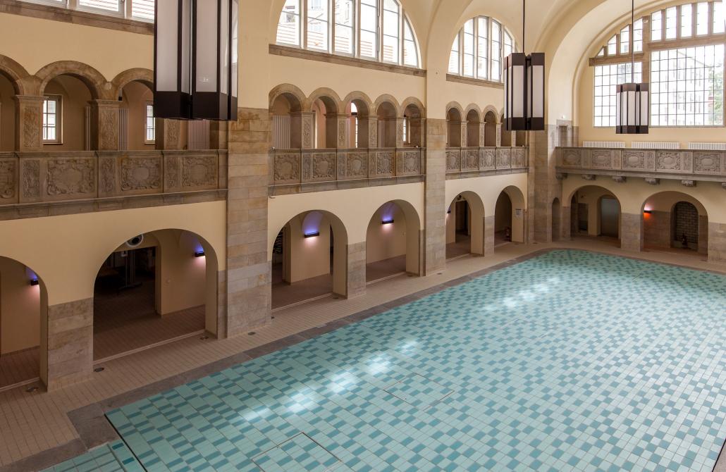 Leuchte für Schwimmbad