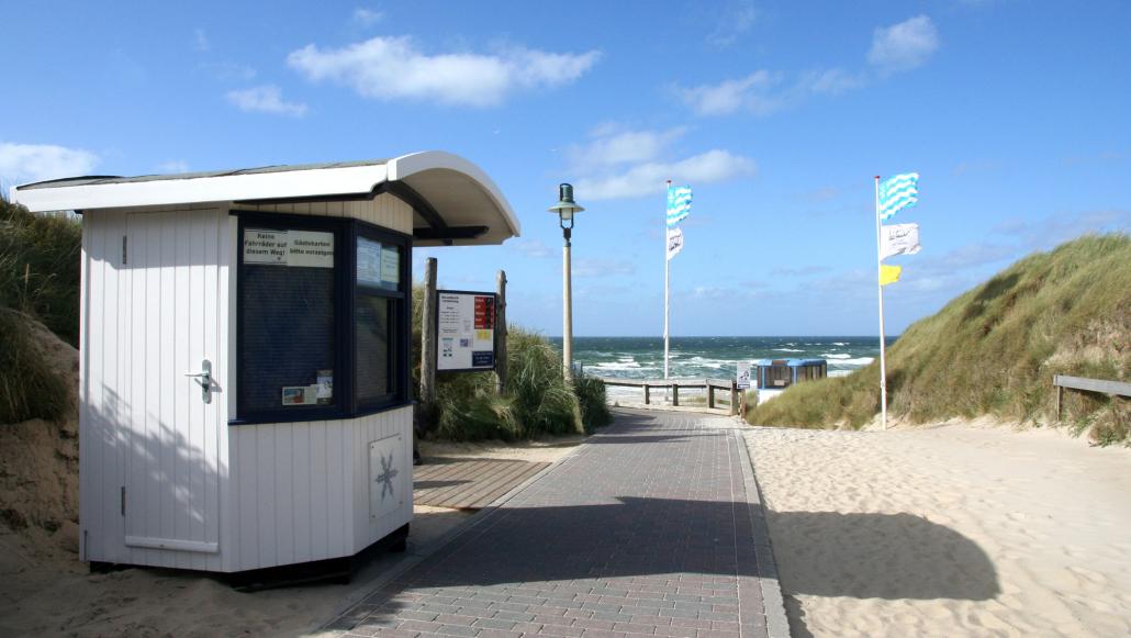 Markt Schwaben Strand Kampen Sylt