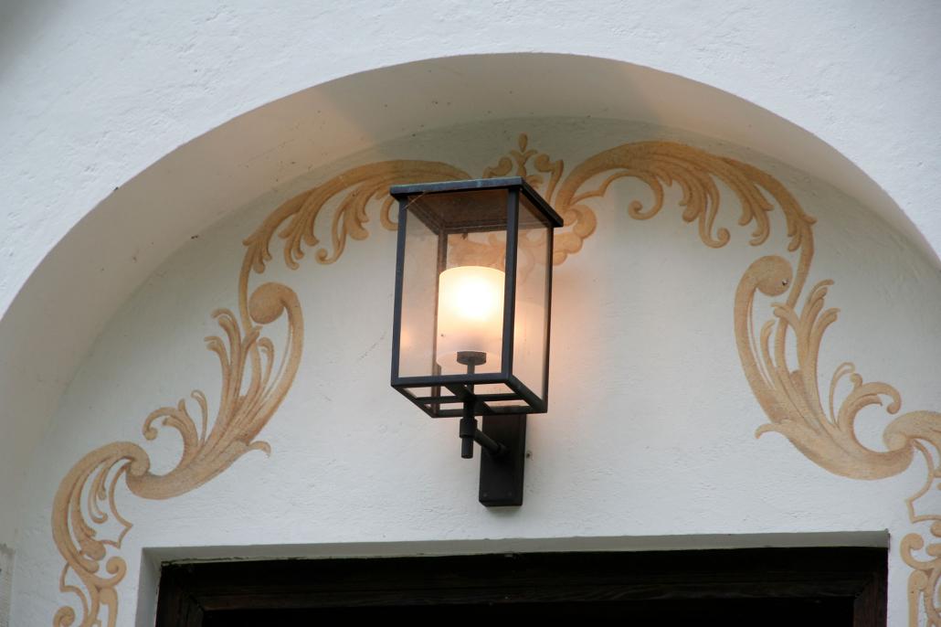 Hausnahes Licht_Museum der Bayerischen Könige_Wandleuchte